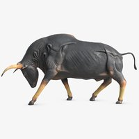 3D bull sculpture 2