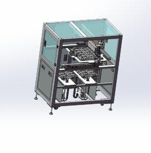 3D loading unloading tray