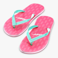 3D sandals holiday beach