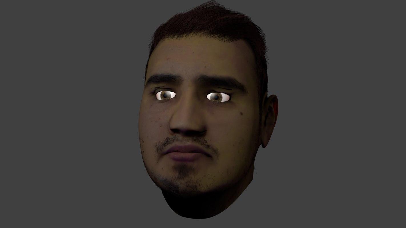 3D rostro