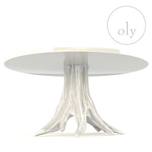 3D oly studio beck dining table model