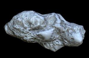 3D model asteroid pbr