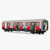3D london subway s8 wagon
