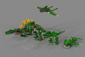 3D animals lego