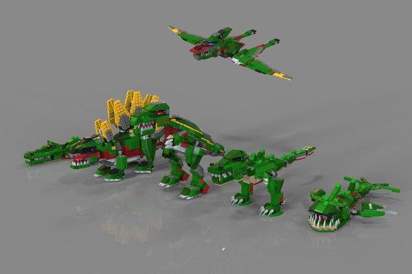 3D animals lego