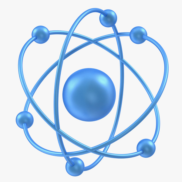 orbital atom modeled 3D model