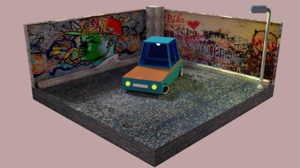 truck machine 3D