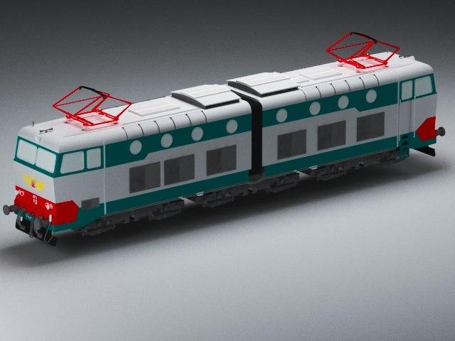 3D train model