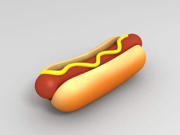 hot dog model