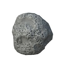 asteroid pbr engines 3D model