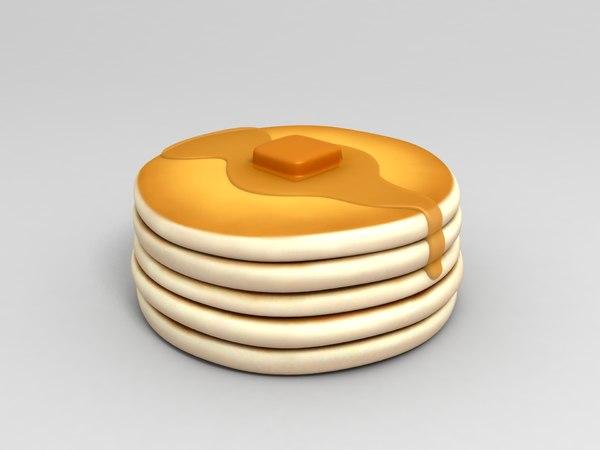 3D pancake model
