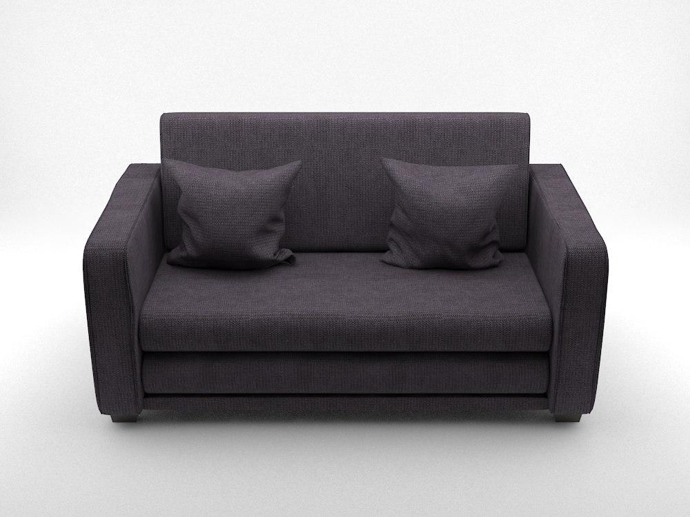 ikea sofa 3D model