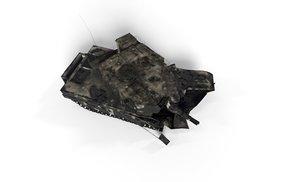 tank abrams games 3D model
