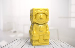 3D model statue 01