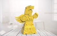 Maya statue 02