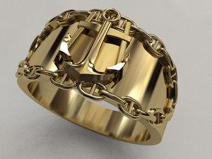 3D ring ancor
