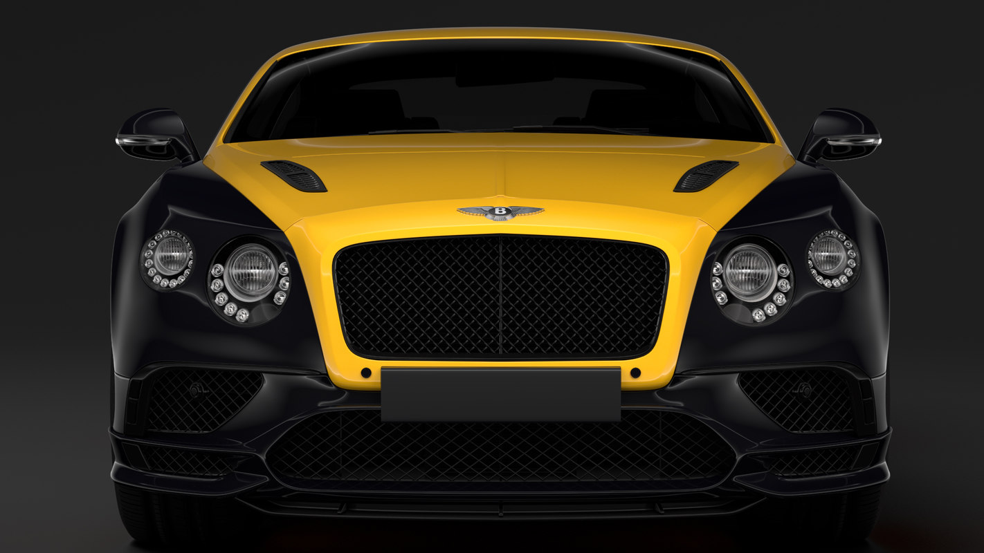 bentley continental gt 24 3D model