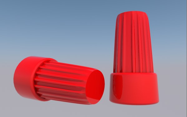 wire connector 3D model