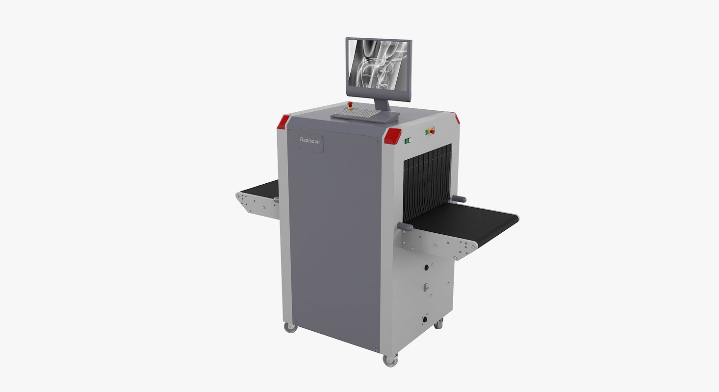 rapiscan x-ray baggage scanner 3D model