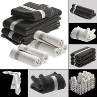 towels model