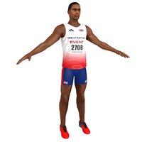 sprinter athlete model