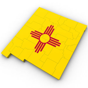 3D model political new mexico
