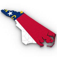North Carolina Political Map