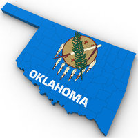 political oklahoma 3D model