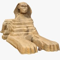 Great Sphinx of Giza 3D Scan