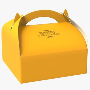 3D pastry packaging