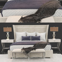 3D criteria upholstered bed