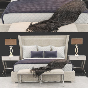 3D criteria upholstered bed