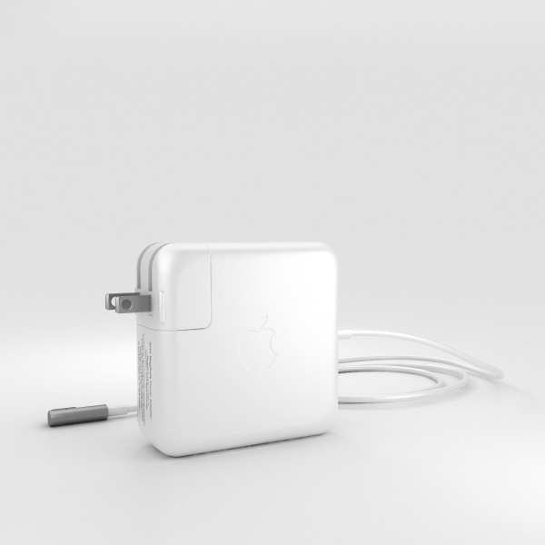 3D apple 60w magsafe model