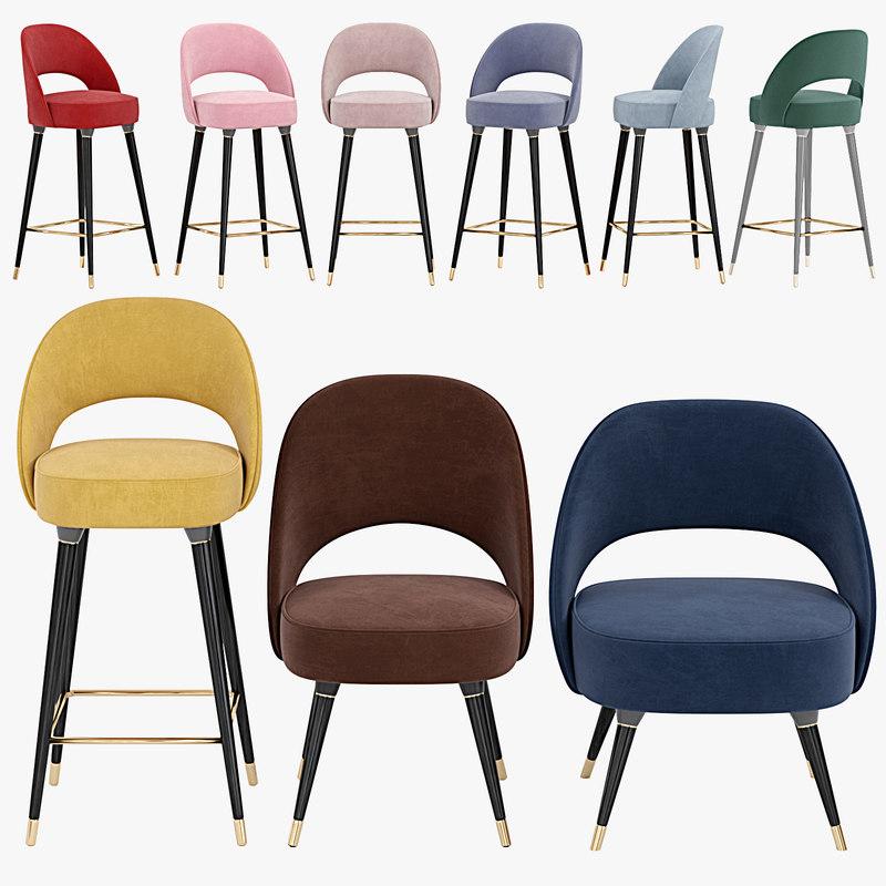 collins chair 3D