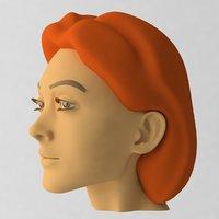 3D head 03
