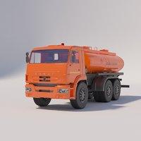 NEFAZ Automatic Fuel Tanker 6606-213-78