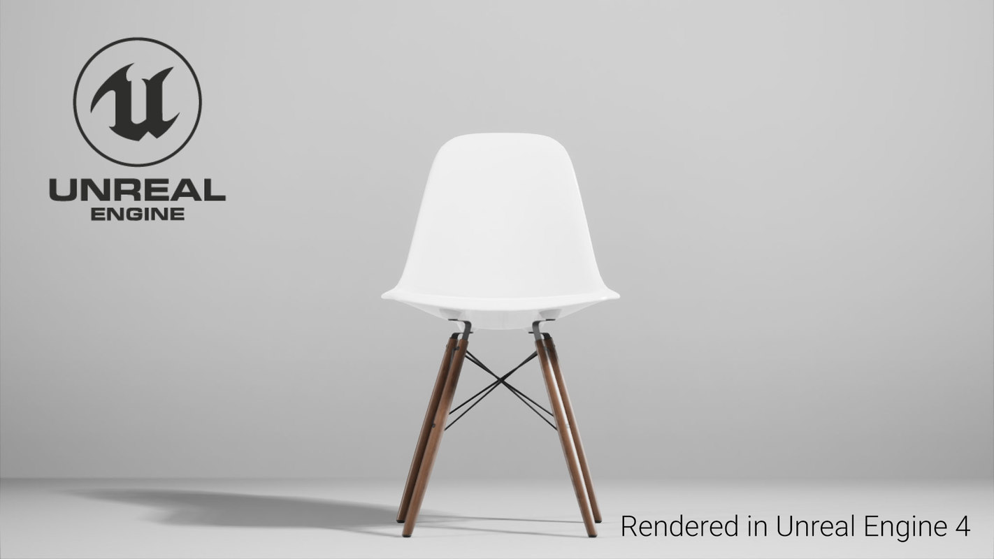 3D chair unreal engine model