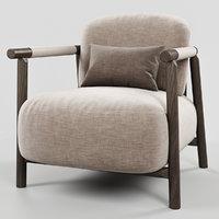 3D ditreitalia nathy armchair