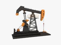 Oil Pumpjack Animated