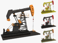 Oil Pumpjack Animated