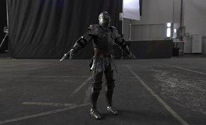 medieval armor 3D