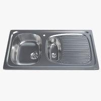 kitchen sink 001 3D