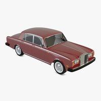 silver shadow 3D model