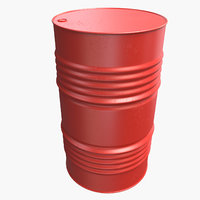 oil barrel new 3D model
