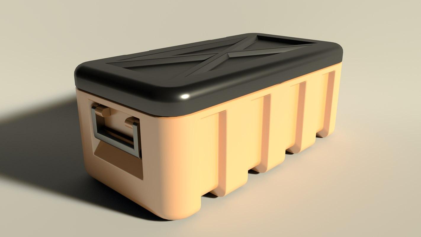 chest plastic model
