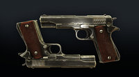3D fps m1911 weapon bonus