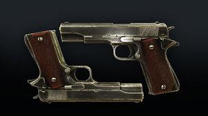 3D fps m1911 weapon bonus