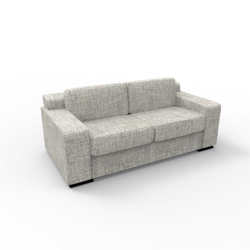 3D deco sofa model