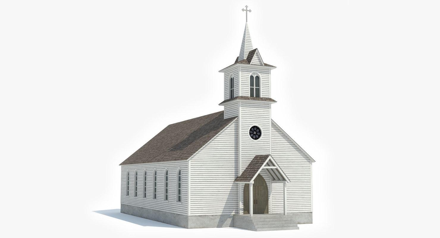 chapel church 3D