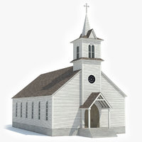 chapel church 3D